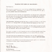 Letter about Nickelodeon/Paramount Comedy