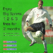 ONdigital Sky Sports offer spring 2001