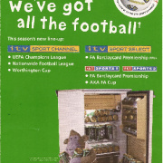 ITV Sport Channel leaflet