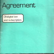 ONdigital 1999 customer agreement