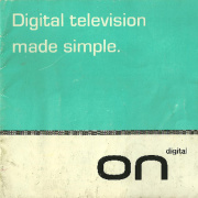 ONdigital early 1999 leaflet