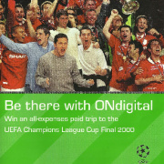 ONdigital Champions League 2000 leaflet