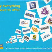 ITV Digital Prepaid welcome pack